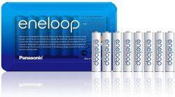 Panasonic Eneloop AAA 750mAh NIMH (8 db) Újratölthető elem (Sliding pack)