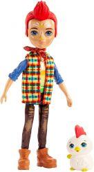 Mattel Enchantimals GJX39 - Redward Rooster baba és Cluck figura