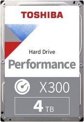 """Toshiba X300 4TB 3.5"""" High-Performance 7200RPM SATAIII 128MB belső merevlemez"""