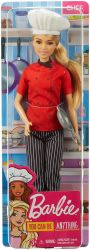 Mattel Barbie (DVF50/GTW38) You can be anything tésztaséf baba