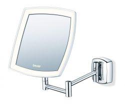 Beurer BS 89 16x16cm 36 LED ezüst-fehér kozmetikai tükör