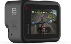 GoPro HERO8 Black 12MP, 4K 60 fps fekete akciókamera