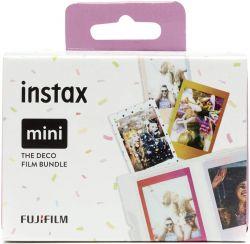 Fujifilm 70100148595 Instax mini Deco csomag 86 x 54 mm keret, 62 x 46 mm fotó instant film (30 db)