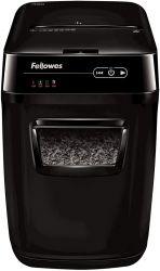 Fellowes Automax 200 DIN P-5, 200 lap, 32 liter fekete iratmegsemmisítő