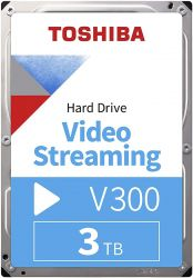 "Toshiba V300 Video Streaming 3.5"" 3TB SATAIII 5700RPM 64MB belső merevlemez"