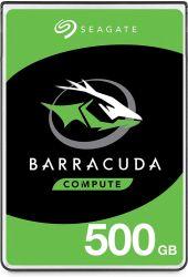 "Seagate BarraCuda 500GB 2.5"" 5400RPM SATAIII belső merevlemez"