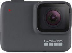 GoPro HERO7 Silver GPS + mozgásérzékelő, 4K 30 fps ezüst akciókamera
