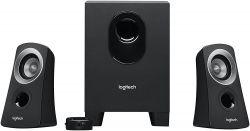 Logitech Z313 2.1, 25 W fekete hangszóró