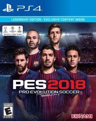 PES 2018 Legendary Edition (PS4) játékszoftver