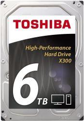 """Toshiba X300 6TB 3.5"""" 7200RPM SATAIII belső merevlemez"""