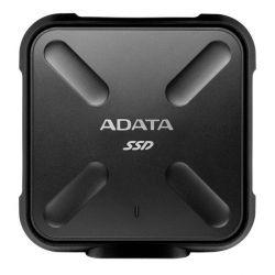 ADATA SD700 512GB, 440/430MB/s, USB3.1, fekete külső SSD