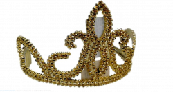 Regio 75541 (15 cm) arany diadém