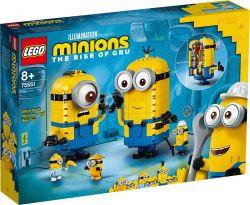 Lego® (75551) Minions Kocka minyonok és barlangjuk