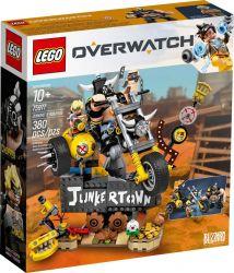 LEGO® (75977) Overwatch Junkrat és Roadhog