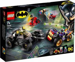 LEGO® (76159) Super Heroes Joker üldözése háromkerekűn