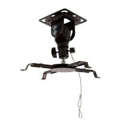 4World dönthető/forgatható 15,5 cm fekete Projektor mennyezeti konzol