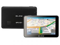 "Blow GPS50V Europa 5 "", 800 x 480, lítium-ion fekete GPS navigáció"