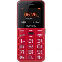 "myPhone Halo EASY 1,77"" Single SIM 2G piros mobiltelefon"