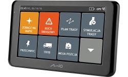 """Mio Spirit 8670 LM 6,2"""" teljes Európa GPS fekete autós navigáció"""