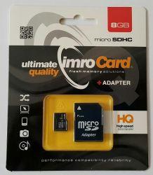 IMRO 4/8G ADP MicroSDHC 8GB Class 4 memóriakártya