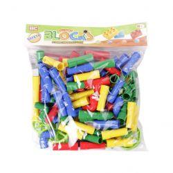 HC 80756 (60 db) Csövek műanyag építőjáték