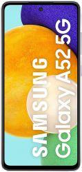 """Samsung Galaxy A52 6.5"""" 128GB Dual SIM 5G ibolya okostelefon"""