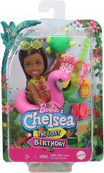 Mattel Barbie (GRT80/GRT82) Barbie and Chelsea - az elveszett szülinap - Chelsea baba flamingós úszógumival