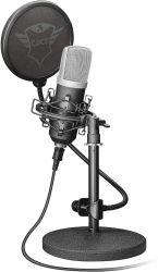Trust GXT 252 Emita 16bit, 48kHz, USB fekete streaming  gamer mikrofon