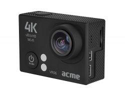 Acme VR06 Ultra HD 4k fekete sport és akciókamera