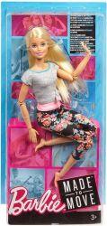 Mattel Barbie (FTG80/FTG81) hajlékony jóga baba