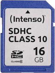 Intenso 3411470 SDHC, 16GB, Class 10 memóriakártya