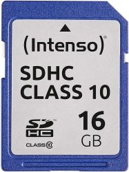 Intenso 3411490 SDXC, 64GB, Class 10 memóriakártya