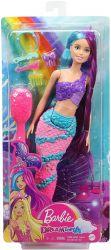 Mattel Barbie (GTF37/GTF39) Dreamtopia lila-kék hajú sellő baba