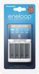 Panasonic ENELOOP CHARGE SMART + QUICK BQ-CC55E fehér töltő