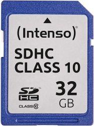 Intenso 3411480 SDHC, 32GB, Class 10 memóriakártya