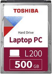 "Toshiba L200 500GB 2.5"" 5400RPM SATAIII belső merevlemez"