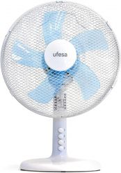 Ufesa TF0300 40 W, 3 sebesség fehér asztali ventilátor