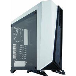 Corsair Carbide Series Spec-Omega Midi Edzett üveg fehér / fekete ATX számítógép ház