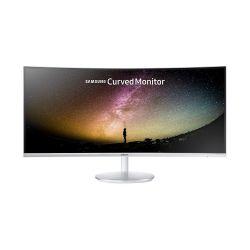 "Samsung LC34F791WQUXEN 34"" WQHD VA HDMI Ívelt szürke monitor"