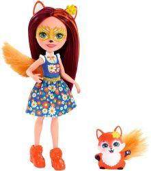 Mattel Enchantimals FXM71 Felicity Fox & Flick baba