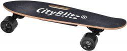 CityBlitz CB013 E-Skateboard 16 km/h fekete elektromos gördeszka