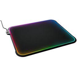 SteelSeries QCK Prism RGB LED fekete Gaming egérpad
