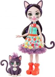 Mattel Enchantimals GJX40 Ciesta Cat baba