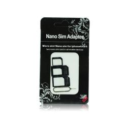 BlueStar BS219978 NOOSY Nano-Micro SIM adapter készlet