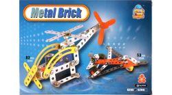 Conmay 84722 (82 db) Helikopter darabos fém építőjáték