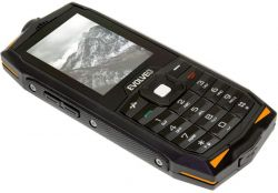 "Evolveo StrongPhone Z3 2.4"" Dual SIM 3G fekete strapabíró mobiltelefon"
