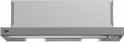 Beko HNT61210X LED, 3 fokozat, 310 m³/h inox páraelszívó