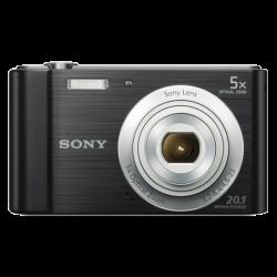 Sony DSC-W800B fekete digitális fényképezőgép