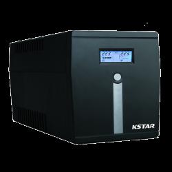 KSTAR Microsine 1000VA USB, LCD - Line-interaktiv szinuszos Szünetmentes táp (Szünetmentes táp)