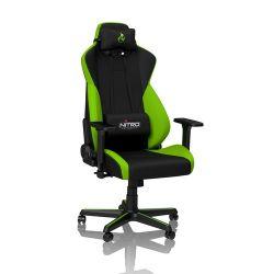 Nitro Concepts S300 Atomic Green - Fekete/Zöld Gamer szék